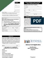 crandall library card