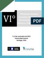 PROGRAMA 6to Congreso Nacional de Estudiantes de Ciencia Política.pdf