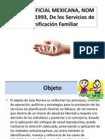 Norma Oficial Mexicana, Nom 005-Ssa2-1993, De