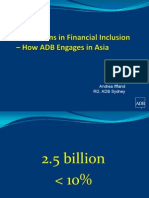 Innovations in Financial Inclusion – How ADB Engages in Asia