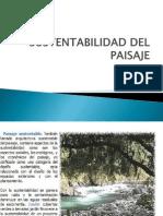 Sustentabilidad Del Paisaje