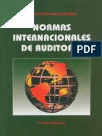 Normas Internacionales de Auditoria, 3° ed – Simon Andrade Espinoza
