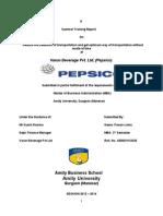 Company Report Pepsico