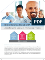 IBS Enterprise Software Brochure