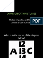 Context Communication