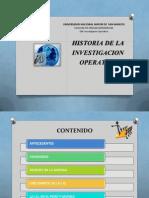 Historia de La Investigacion Operativa