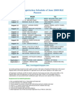 PRC Cebu Initial Registration