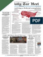 The Daily Tar Heel for November 7, 2013