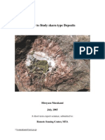 How to Study Skarn Type Deposits