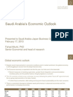 Econ Bfg 17Feb13 SaudiJapan Business Council