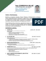 CV. Carlos Andres Cordova Silve