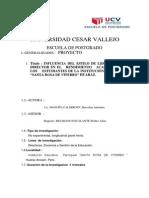 Universidad Cesar Vallejo Proyecto Actualizado