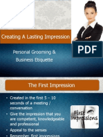Personal Grooming & Business Etiquette.ppt