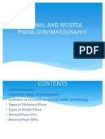 NORMAL AND REVERSE PHASE CHROMATOGRAPHY.ppt