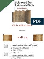 08 Bibbia Ed Critiche