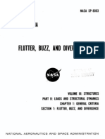 NASA Flutter, Buzz, And Divergence