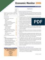 Asia Economic Monitor - December 2006