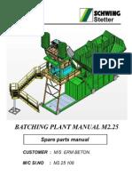 Schwing concrete pump manual.