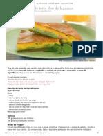 Aprenda Receita de Torta Duo de Legumes - Gastronomia iTodas