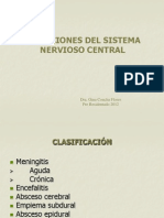 INFECCIONES SNC 2012