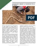 Traseul Sărăteni-Soroca din drum național s-a transformat într-un itinerariu arheologic de valoare