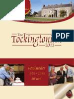 Tockingtonian 2013
