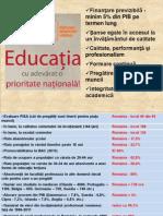 Strategie pe Educatie - Raluca Turcan