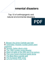 Topic 7 Environmental Disasters