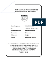 Program Tahunan- Cover