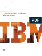 Extending Business Intelligence With Dashboards