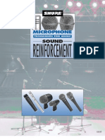 Microphone Techniques for Music Sound Reinforcement