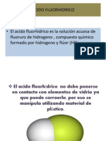 Exposicion de Quimica Del Acido Fluorhidrico