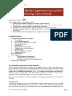 Chapter 2, Market Segmentation