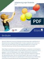 Online-Studie_Zukunftplanung Junger Studenten in NRW