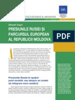 Presiunile Rusiei şi parcursul european al Republicii Moldova