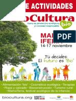 Guía de actividades BioCultura Madrid 2013