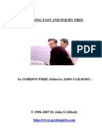 Gordon Pirie's 'Running Fast and Injury Free' - ultimate edition 240307