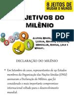 Objetivos do Milênio - 6