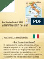 EL NACIONALISMO ITALIANO Raul Sanchez Morán