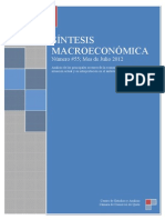 Sintesis Macroeconomica de Julio 2012 55-1