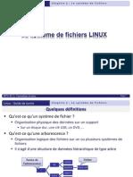 Chap2-Le Systeme de Fichiers Lunix