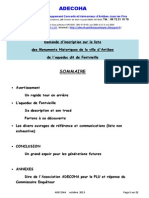 AQUEDUC 29.10.2013 Demande Classement JPA Fontvieille 05-11-2013