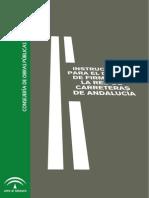 Instruccion para el diseño de firmes de Andalucía