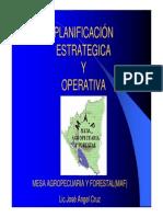 El Planeamiento Estrategico y Operativo