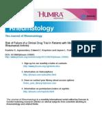 RA Clinical Failure Rate