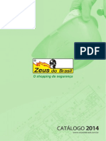 Catálogo de produtos 2014 | Zeus do Brasil