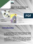 HERRAMIENTAS DE TRABAJO EN EQUIPO Y COOPERACIÓN