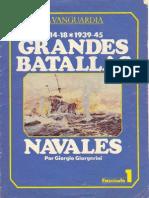 Grandes Batallas Navales - [01De12] La Vanguardia - Coronel y Falkland