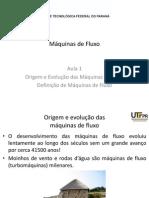 01 - Origem e Evolução das Máquinas de Fluxo