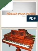 Chopin.música para piano